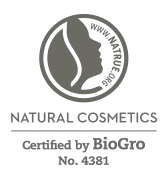 Natural Cosmetics - Certified by BioGro No. 4381