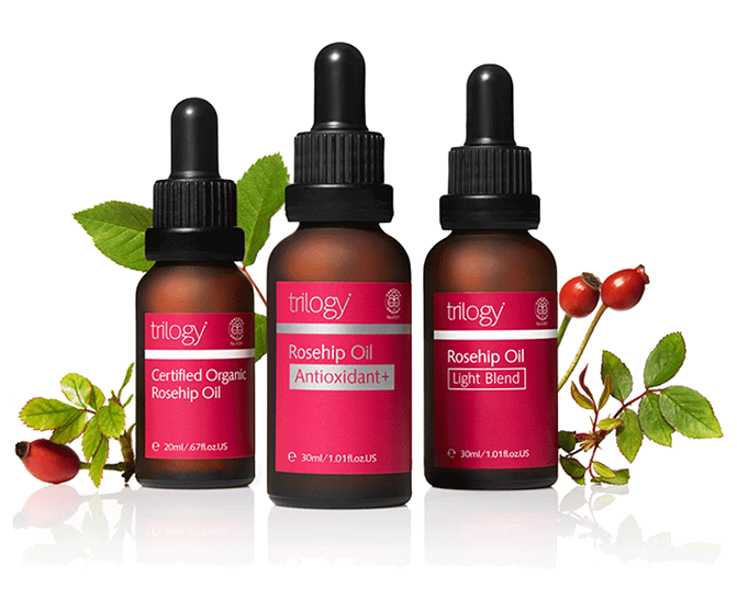 Trilogy Rosehip Oils